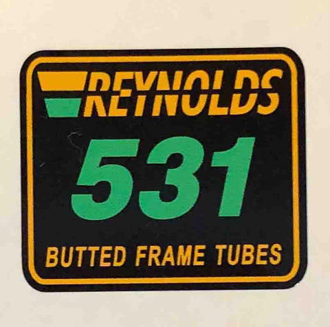 Reynolds 531 Butted Frame Tubes-H Lloyd Cycles