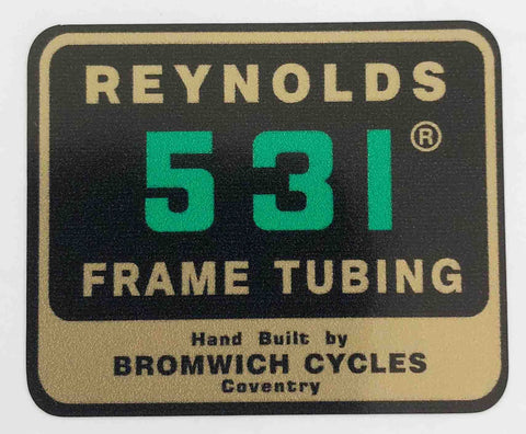 Reynolds 531 Tom Bromwich-H Lloyd Cycles