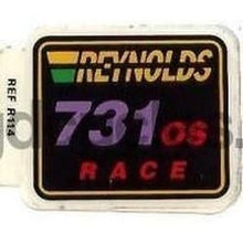 "REYNOLDS 731 OS ""race"" decal. NOS self-adhesive-H Lloyd Cycles"