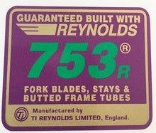 Reynolds 753 R82-89-H Lloyd Cycles