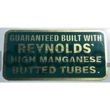REYNOLDS HM TUBING transfer.-H Lloyd Cycles