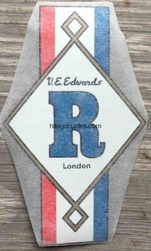 RONDINELLA head/seat decal NOS-H Lloyd Cycles