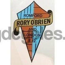 Rory O'Brien Seat / Head Crest-H Lloyd Cycles