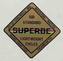 Sid Standard Head/Seat Superbe Model-H Lloyd Cycles