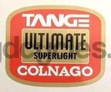 Tange Ultimate Colnago Tubing Decal-H Lloyd Cycles