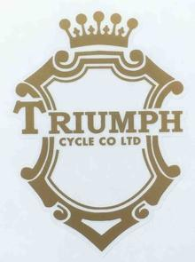 TRIUMPH head/seat/mudguard.-H Lloyd Cycles