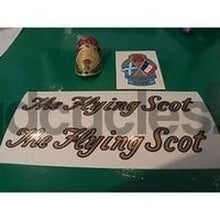 Vintage FLYING SCOT decals AND METAL HEAD BADGE-H Lloyd Cycles