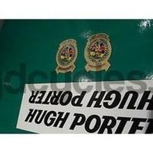 Vintage NOS Hugh Porter decal set. Original decals. Very rare opportunity.-H Lloyd Cycles