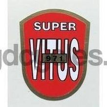 VITUS. Super Vitus 971 tubing sticker.-H Lloyd Cycles