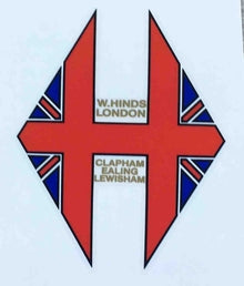 W Hinds Head/seat decal-H Lloyd Cycles