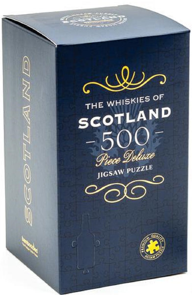 Scottish Whisky Jigsaw Puzzle - Caviste