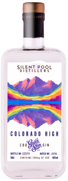 Silent Pool Colorado High CBD Gin