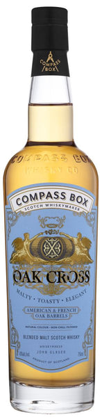 NV Compass Box Oak Cross - Caviste