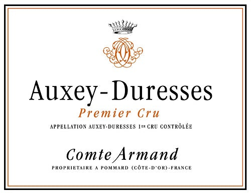 2016 Auxey Duresses Rouge 1er Cru, Comte Armand, Burgundy, France