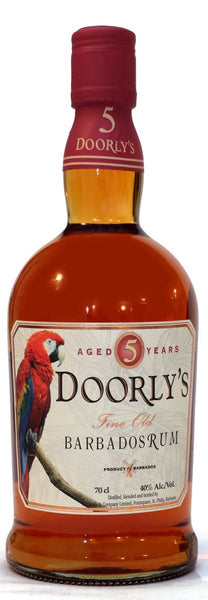 Doorlys Premium Gold Rum 5 year old - Caviste