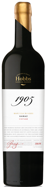 2017 Hobbs 1905 Shiraz, Barossa Valley