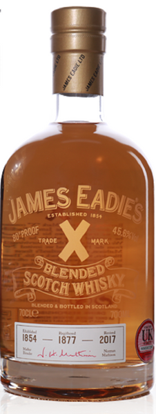 James Eadie Trade Mark 'X' Whisky - Caviste