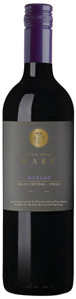 2016 Karu Merlot, Valle Central, Chile - Caviste