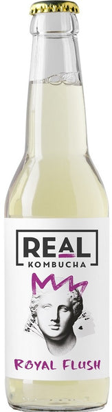 Real Kombucha Royal Flush - Caviste