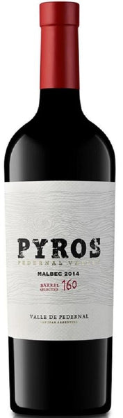 2016 Pyros Malbec, Pedernal Valley, Argentina