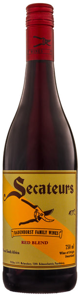 2015 A A Badenhorst Secateurs Red