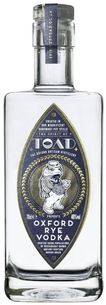TOAD Oxford Rye Vodka