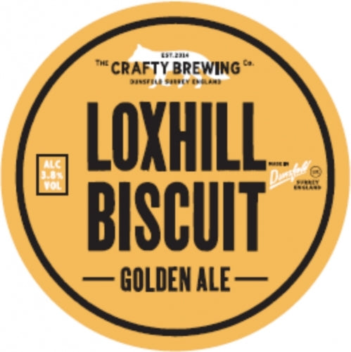 Crafty Brewing Loxhill Biscuit Ale - Caviste