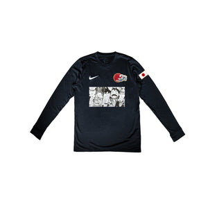 Shounen Jersey - Black LS