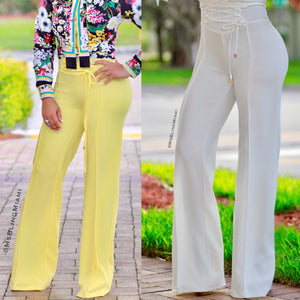 Sloane High Waist Corset Pants (Final Sale‼️)