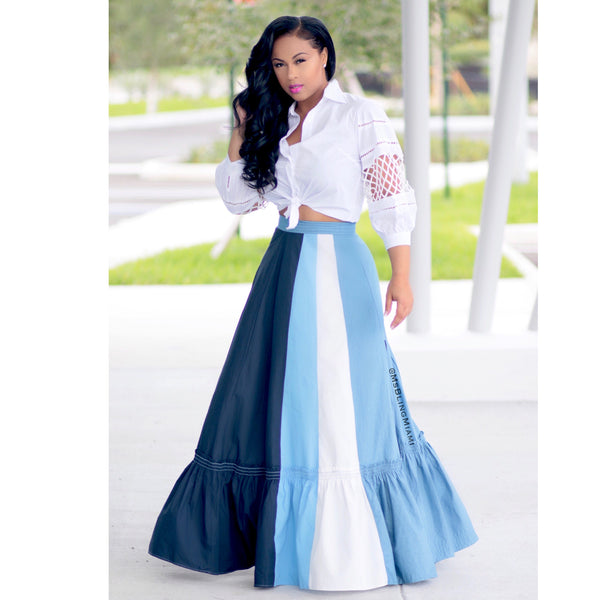 Laurie Denim Skirt (Limited Edition)