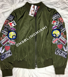 Myra patch jacket