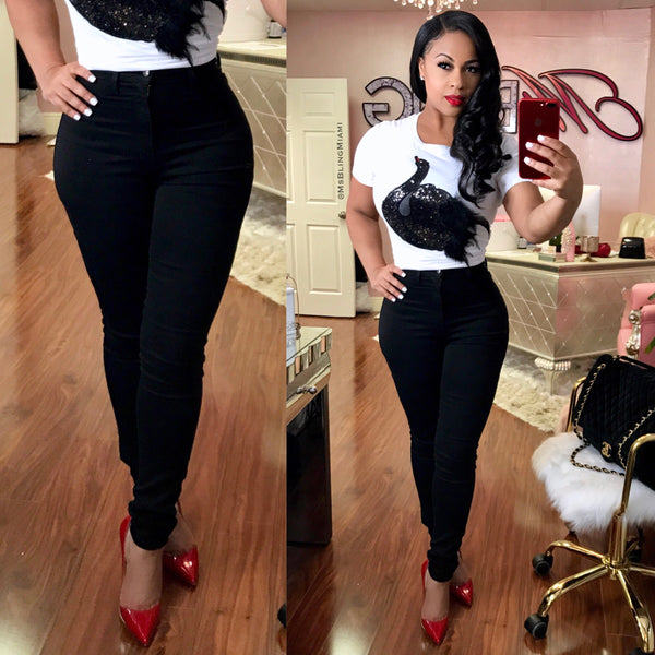 Hourglass Jeans (Black)