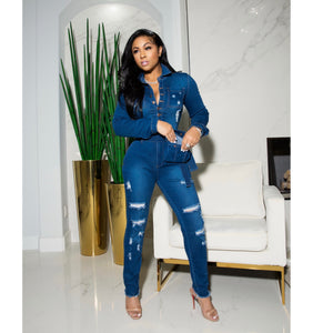 """Harlem"" Super Stretch Jumpsuit"