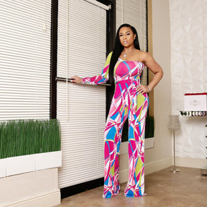 """So Fine"" Stretch Jumpsuit"