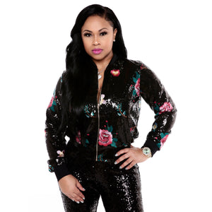 Layla Sequin Jacket