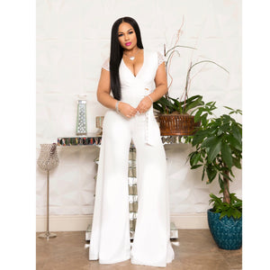 """White Party"" Jumpsuit"
