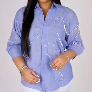 """The Hamptons"" Pearl Tunic (Final Sale‼️)"