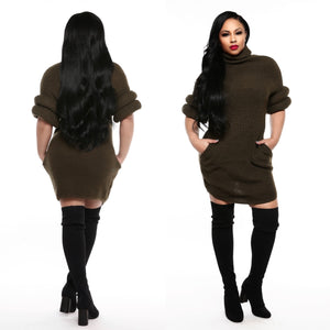 Ari Sweater Dress (Final Sale‼️)