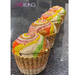 """Sweet Tooth"" Rhinestone Bag 🧁"