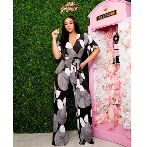 """Such A Lady"" Stretch Jumpsuit"