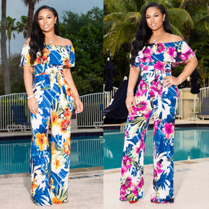"""Baecation"" Stretch Jumpsuit"
