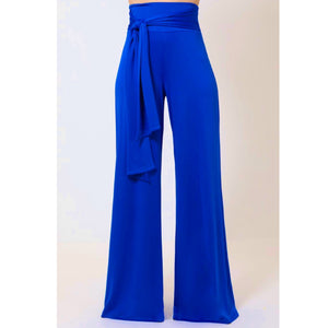 """All Tied Up"" Stretch Palazzo Pants"