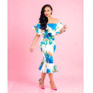 Shayla Scuba Dress