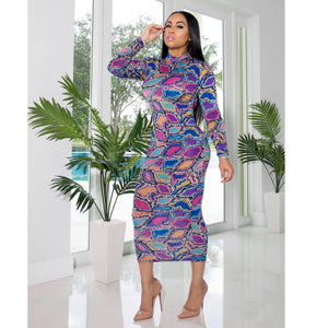 """Lira"" Stretch Dress"