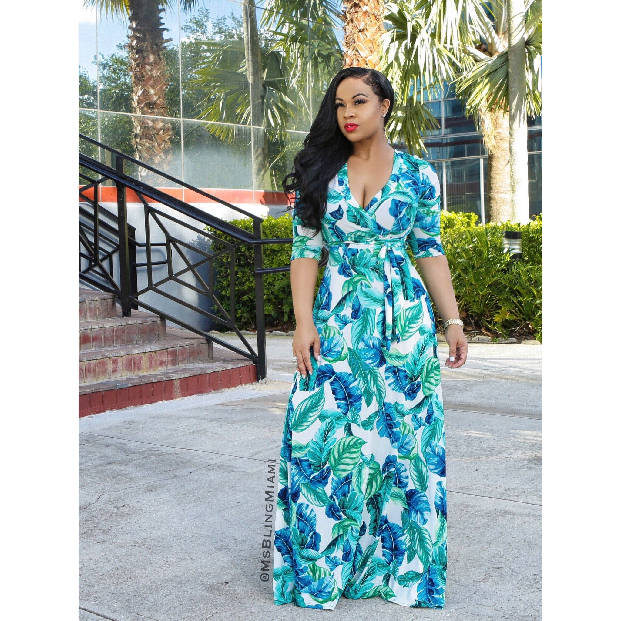 Makayla Wrap Dress