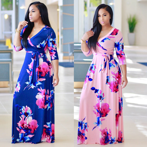 Nina Wrap Dress (Restocked)