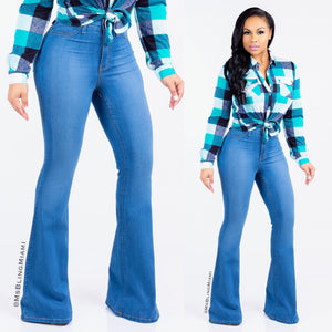 Shelby High Waist Flare Jeans