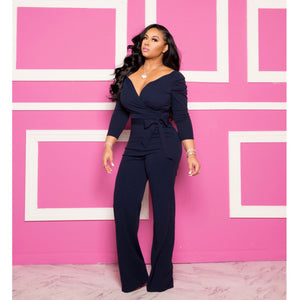 """Siobhan"" Stretch Jumpsuit"