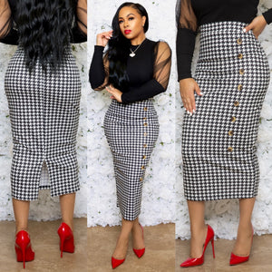 """Sweet Caroline"" High Waist Skirt"