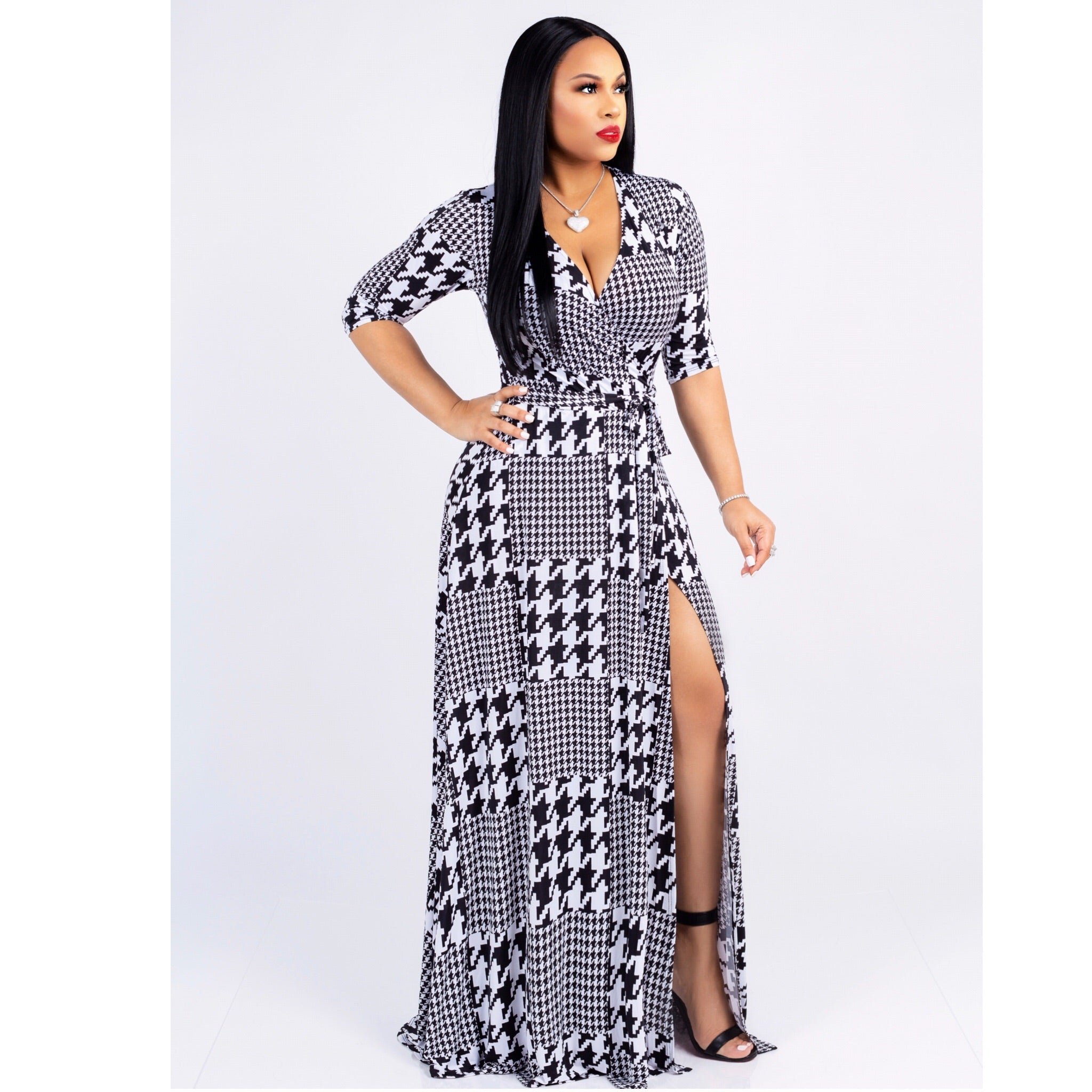 Raquel Wrap Dress